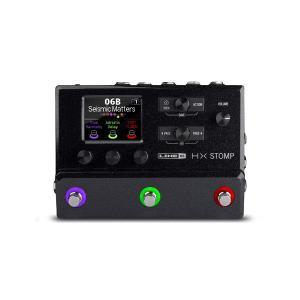 【HX Stomp】「超コンパクトなプログレード・ギタープロセッサー」  非常にコンパクトな筐体に、...