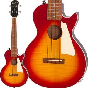 Epiphone エピフォン / Les Paul Acoustic/Electric Tenor Ukulele (HS) (特典付)|ikebe