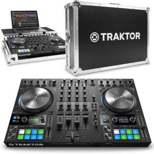 Native Instruments TRAKTOR KONTROL S4 MK3 + 専用フライトケースセット|ikebe