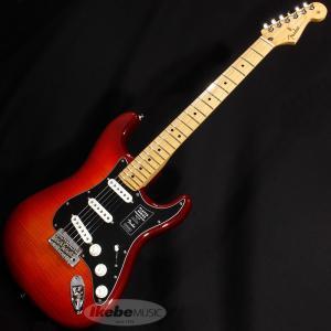 Stratocasterの印象的なサウンドは、フェンダーの看板的な特徴のひとつです。鳴りの良いハイエ...