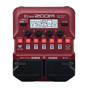 ZOOM ズーム / B1 FOUR (Multi-Effects Processor) / 数量限...