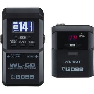 ワイヤレス・システムWL シリーズは、BOSS 独自のテクノロジーにより音の遅れや音質劣化を極限まで...