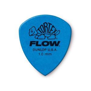 Dunlop (Jim Dunlop) ジム ダンロップ / 558 Tortex FLOW Standard Pick ×10枚セット (1.0mm/ブルー)|ikebe