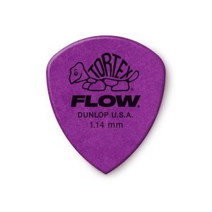 Dunlop (Jim Dunlop) ジム ダンロップ / 558 Tortex FLOW Standard Pick ×10枚セット (1.14mm/パープル)|ikebe