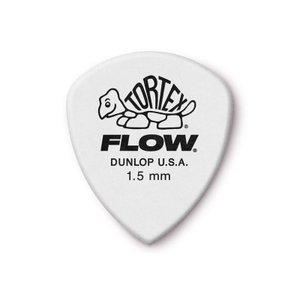 Dunlop (Jim Dunlop) ジム ダンロップ / 558 Tortex FLOW Standard Pick ×10枚セット (1.5mm/ホワイト)|ikebe