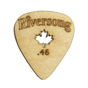 Riversong Guitars / Wooden Guitar Pick Original (0.46mm)|ikebe