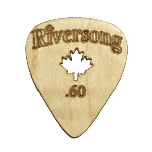 Riversong Guitars / Wooden Guitar Pick Original (0.6mm)|ikebe