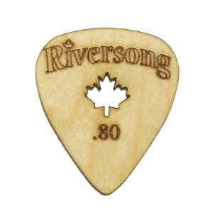 Riversong Guitars / Wooden Guitar Pick Original (0.8mm)|ikebe