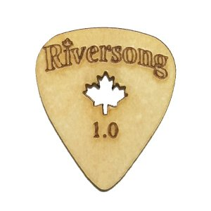 Riversong Guitars / Wooden Guitar Pick Original (1.0mm)|ikebe