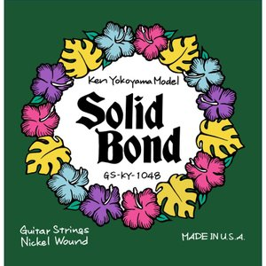 Solid Bond / Ken Yokoyama Signature Guitar Strings (GS-KY-1048)|ikebe