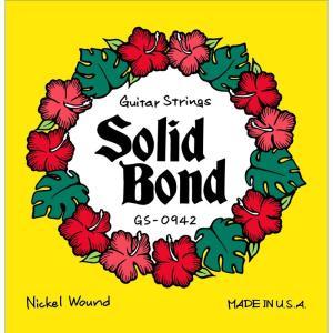 Solid Bond / Guitar Strings (GS-0942)|ikebe