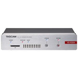 TASCAM VS-R264 フルHDストリーマー/レコーダー / 予約商品 10月下旬発売予定 ikebe