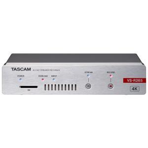 TASCAM VS-R265 4K/UHDストリーマー/レコーダー / 予約商品 10月下旬発売予定 ikebe