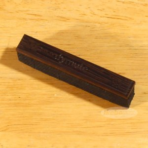 Nordstrand / NORDYMUTE (4弦ベース用) (Wenge / 20mm Vintage Style Bridge) (1本入り)|ikebe