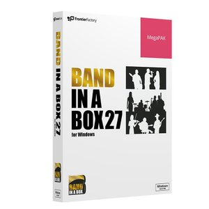 PG Music Band-in-a-Box 27 for Windows MegaPAK / 予約商品・9月20日発売予定|ikebe