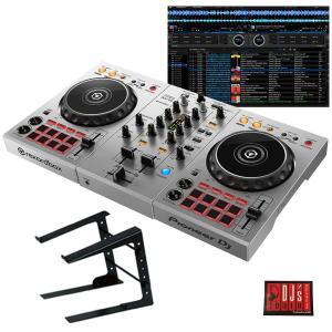 "Pioneer DJ / DDJ-400-S ""シルバー"" + PCスタンドセット 国内池部楽器店限定モデル"