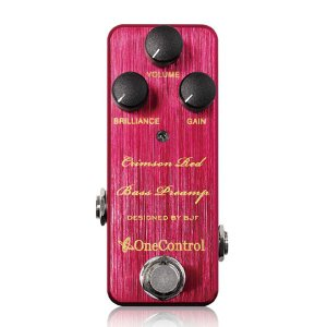 One Control / Crimson Red Bass Preamp / 9月25日入荷予定|ikebe