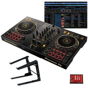 Pioneer DJ Pioneer DJ DDJ-400-N + PCスタンドセット 限定ゴールドモデル (DJ初心者をサポートする教則動画プレゼント)(djay接続ガイド付属)|イケベ楽器店