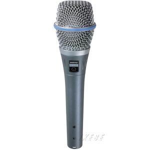 ライブでもスタジオクオリティを発揮する、高品位ボーカル用マイクロホン。  コンデンサ型ならではの繊細...