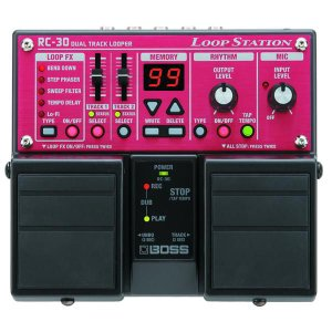 BOSS ボス エフェクター / RC-30 (Loop Station) / 期間限定送料無料 / ポイント5倍|ikebe