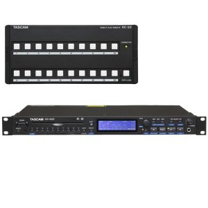 TASCAM CD-500 + RC-20 ikebe