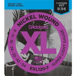D'Addario ダダリオ / EXL120-7 Super Light / 7-String(5...