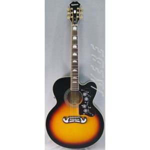 エピフォン エレアコギター Epiphone エピフォン / EJ-200SCE (VS) (特典付) ikebe
