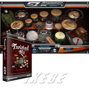 ■ジャンク〜特殊パーカッションを活用した独創的ドラムキット  『EZX TWISTED KIT』は、...