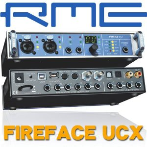 RME FIREFACE UCX (箱損アウトレット)|ikebe