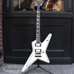 Jackson / JS Series Signature JS32 Gus G. STAR (Snow White with Black Pinstripes) / アウトレット特価|ikebe
