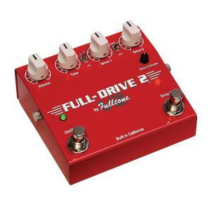 FULL-DRIVE 2 V2は2つのチャンネルの歪みを搭載したオーバードライブです。  ハリのある...