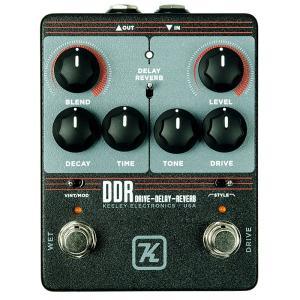 ★DDRはギターリストが使うエフェクトとして最も一般的な「歪み」と「ディレイもしくはリバーブ」を1つ...