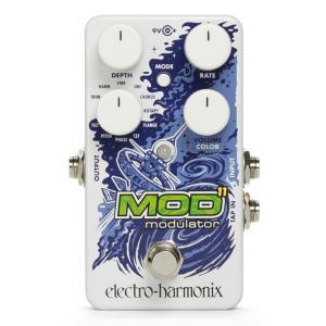 コンパクトサイズなペダルのもかかわらず、高性能なMod11にはクラシックからエキゾチックなサウンドま...