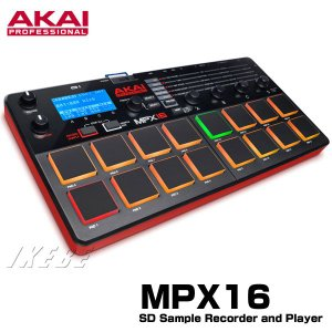 ■様々なシチュエーションで活躍する、コンパクトなステレオ・サンプラー!  MPX16は、バックライト...