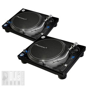 Pioneerの最高品質ターンテーブルPLX-1000 TWIN SET!  DJ機器の世界的トップ...