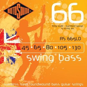 ROTO SOUND / RS 66'Swing Bass' RS665LD(45-130) 5弦ベース弦|ikebe