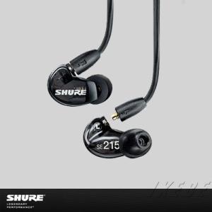 SHURE SE215-K (トランスルーセントブラック) (国内正規品) (1年保証+ユーザー登録後6ヶ月延長保証)(送料無料!)|ikebe