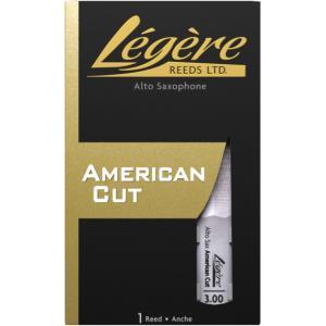 (新製品)LEGERE レジェール アルトサックス用リード アメリカンカット|イケベ楽器店