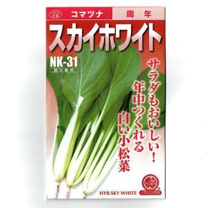 コマツナ 種 スカイホワイト 10ml 日本農林社