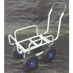 ガーデニング、農作業に使えるアルミハウスカー(台車)です。 アルミで軽量!ノーパンクタイヤですので安...