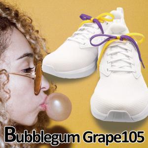 Bubblegum Grape105|バブルガム・グレープ 105 SassyRow Colorful Shoelace|サッシーロウ カラフルシューレース|ikeikakunet
