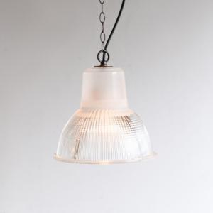 LG517|ガラスライト/Holophane(フォロフェーン)/フランスビンテージ照明|ikeikakunet