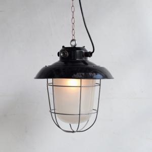 L4912|デッキランプ/フランスビンテージ照明/インダストリアル|ikeikakunet