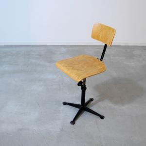 ETC906 デザイナーズワークチェア(Friso Kramer & Wim Rietveld オランダビンテージ家具 ikeikakunet