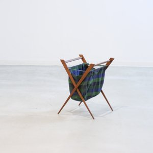 UD11097|マガジンラック(チーク)ミッドセンチュリー家具|北欧デンマークビンテージ|ikeikakunet