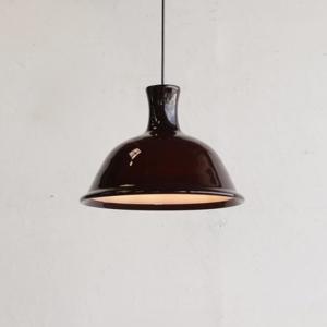 "LG770|ガラスランプ(BR) ""kantate LAMP"" / Michael Bang(ミカエル・バング) / Holmegaard(ホルムガード)|北欧デンマークのビンテージライト|ikeikakunet"
