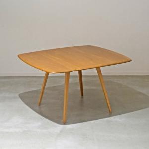 DT544 ERCOL(アーコール)ドロップリーフ(伸長式)テーブル 英国ビンテージ ikeikakunet