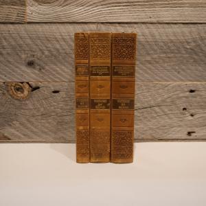 洋古書アウトレット / BIND-2(3冊セット) / 北欧デンマークのビンテージ / ディスプレイ用【全国配送一律500円(税込)】|ikeikakunet