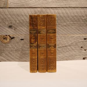 洋古書アウトレット / BIND-5(3冊セット) / 北欧デンマークのビンテージ / ディスプレイ用【全国配送一律500円(税込)】|ikeikakunet