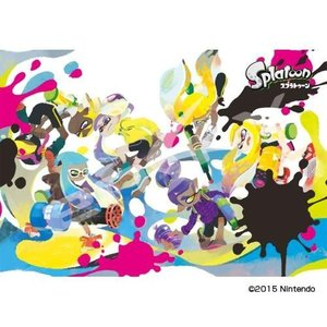 1000T-10 ジグソーパズル スプラトゥーン イカすアート ikelive
